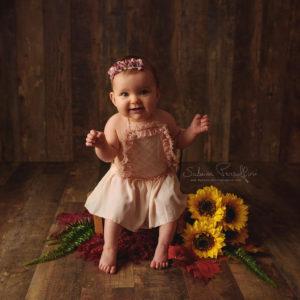 séance photo portrait bébé