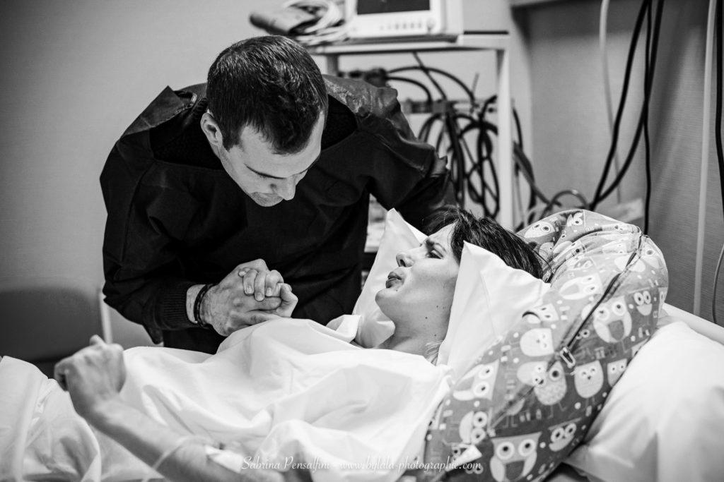 Reportage naissance polyclinique Sète bylala photographie Gard Hérault